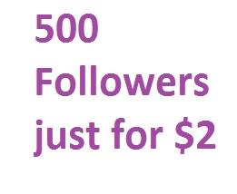 Get 500 Profile or Playlist Followers