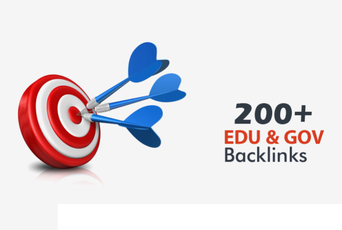 Create 200 EDU and gov seo backlinks