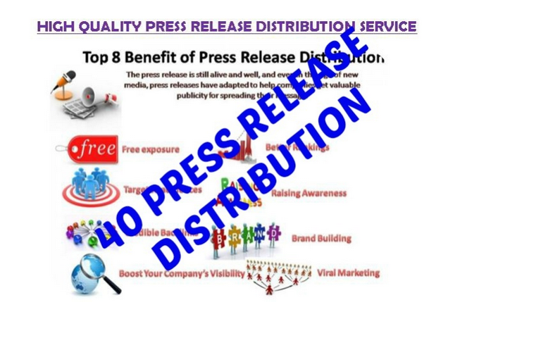 submit your press release to 25 high PR distribution network including PRBuzz