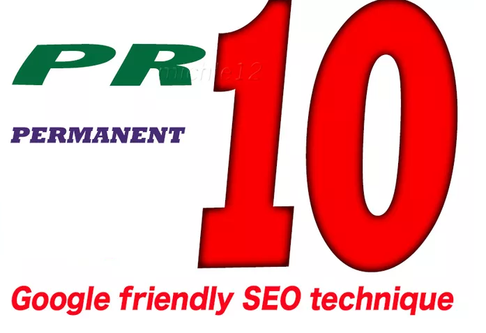 Give your High Quality PR10 Homepage on TLD and PERMANENT