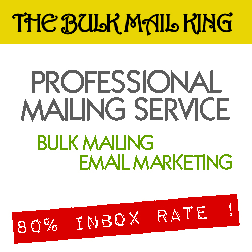 BULK MAILING SERVICE 5k sending - EMAIL MARKETING - PROFESSIONAL SERVICE