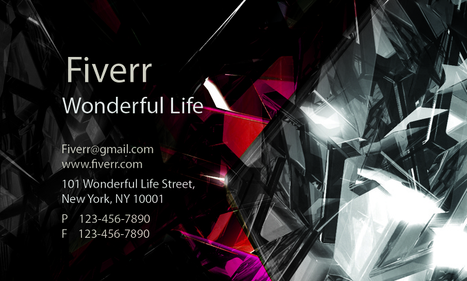 I will Design A PROFESSIONAL Business Card Design