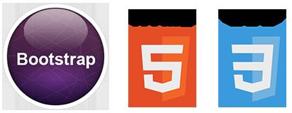 create a bootstrap resopnsive website