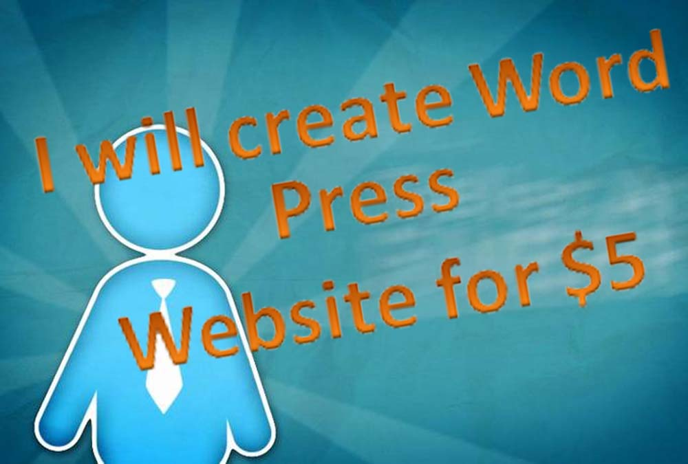 I will create WordPress Website for