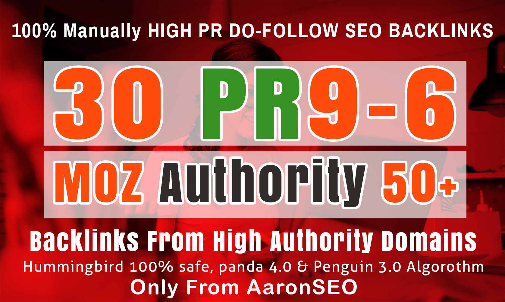 I WILL BUILD HIGH DOMAIN AUTHORITY AND HIGH PR DO-FOLLOW SEO BACKLINKS TO YOUR WEBSITE