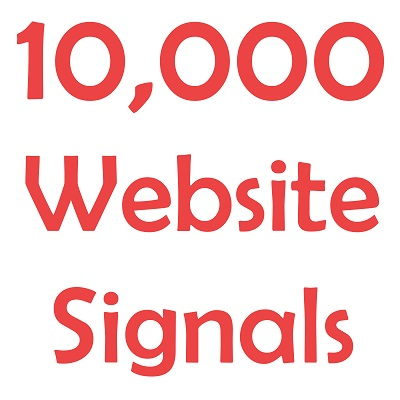 Deliver 10,000 Website Social Signals