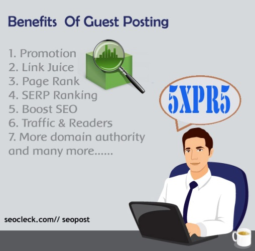 I will post your article as guest post on my 5xPR5 general ...