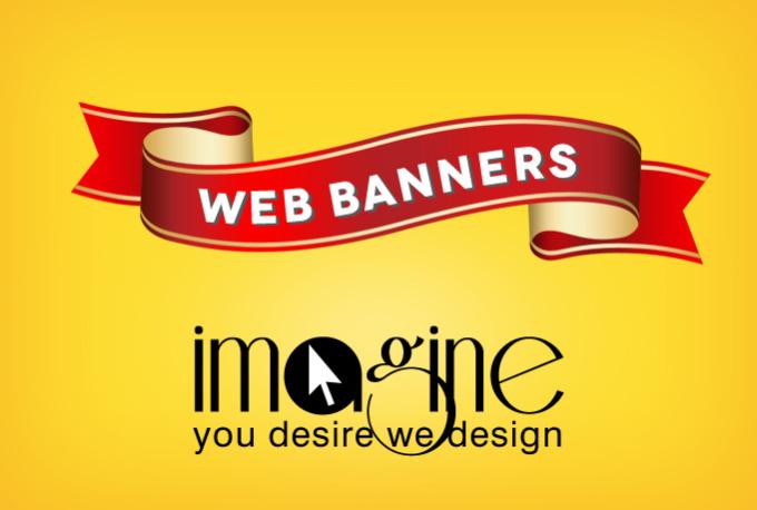 I will create web Banner