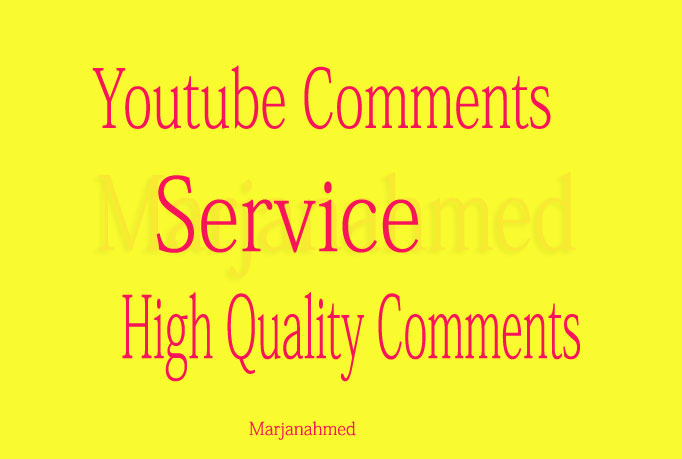 25+ YouTube Custom Comments in Youtube Video only