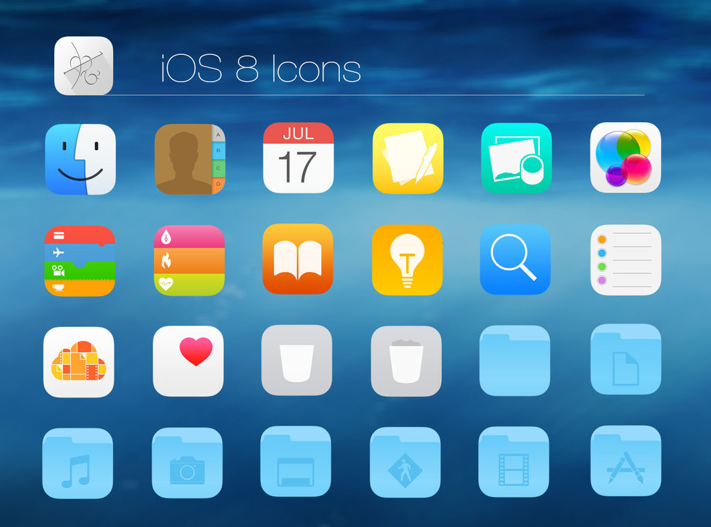 I will design iOS7 iOS8 flat mobile app icon for $15