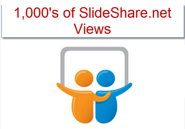 give You 3,507 plus Slideshare dot net Views