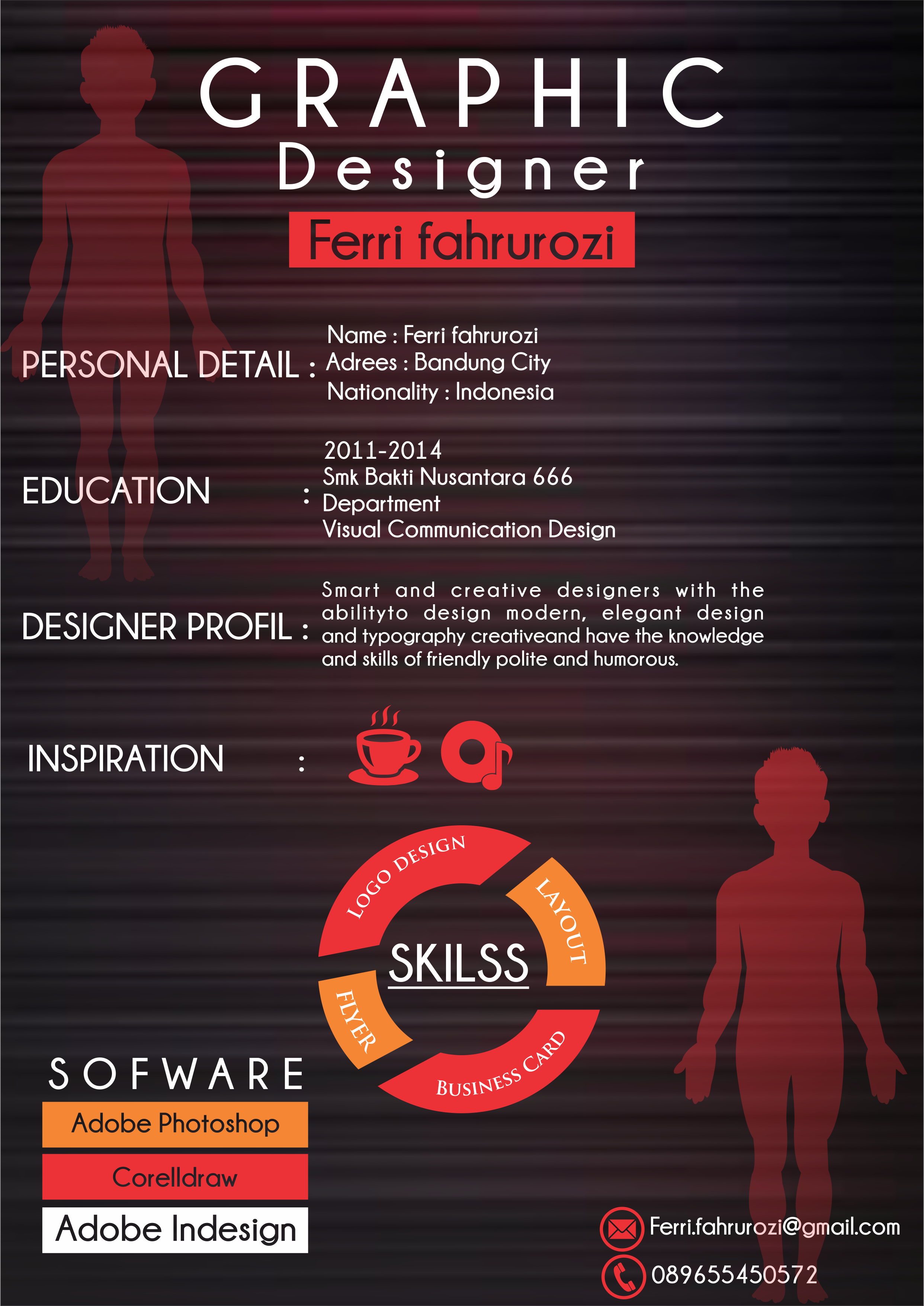 CREATE YOUR RESUME DESIGN JUST