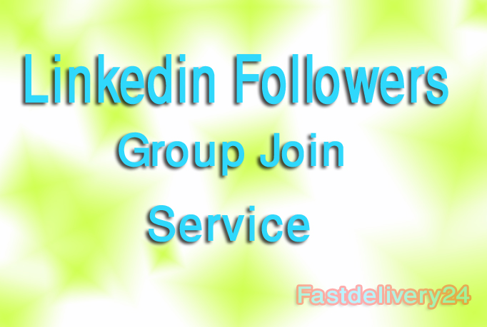 I give you 2000 Linkedin Share, Group join or Linkedin Followers only