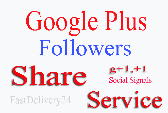 I will provide 160 Real Human Google Plus Share all from different IP only