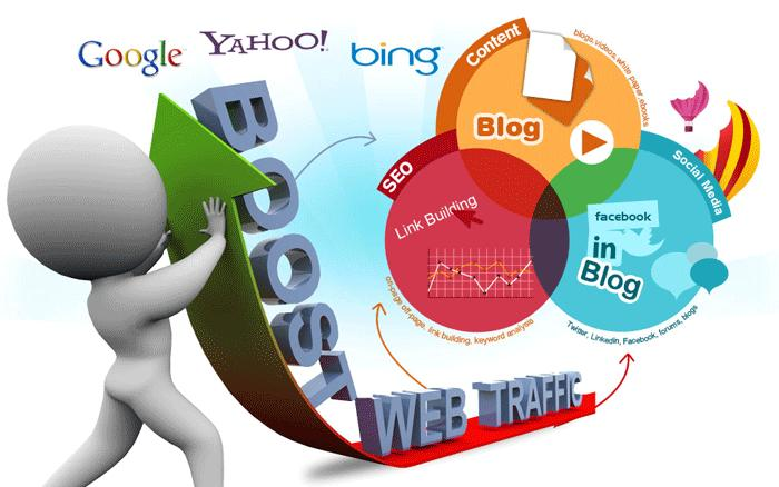 Send 100000+ Human Traffic by Google Bing Youtube etc