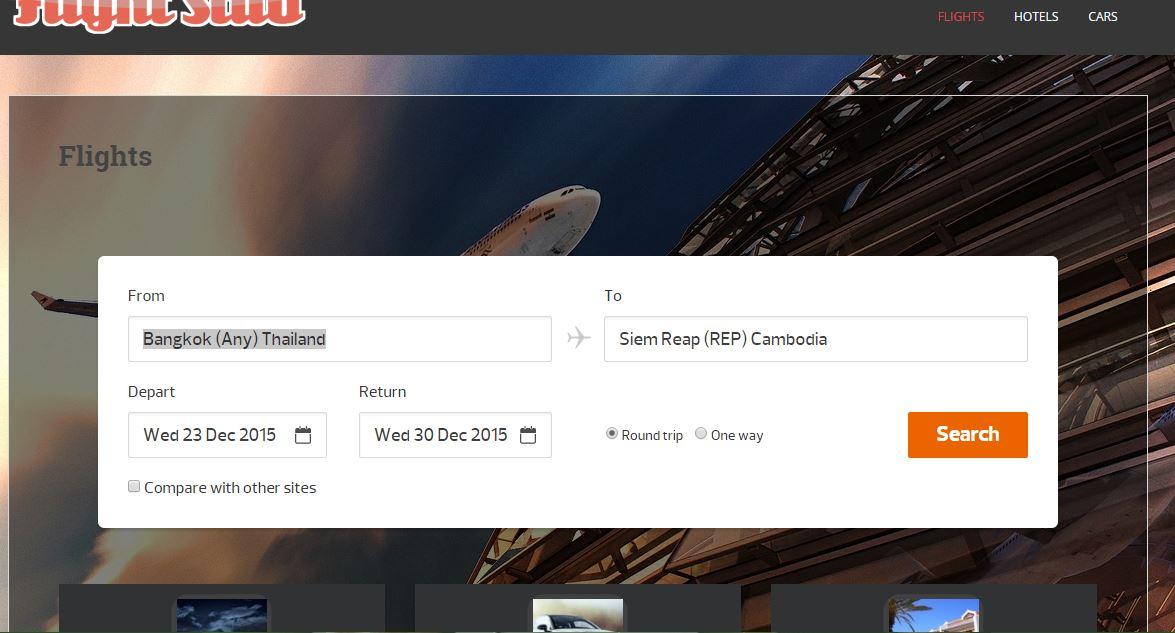 Create a Flight Search Website Expedia Priceline Clone