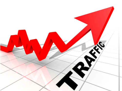 65,000 worldwide visitors to your blog or website