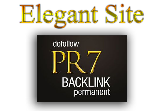 I will give you 2x PR7 permanent link