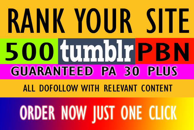 I will do safe expired home page tumblr pa 30 plus relevant content pbn seo backlinks