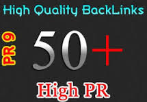 manually Build 50 High AUTHORITY PR9 Backlinks
