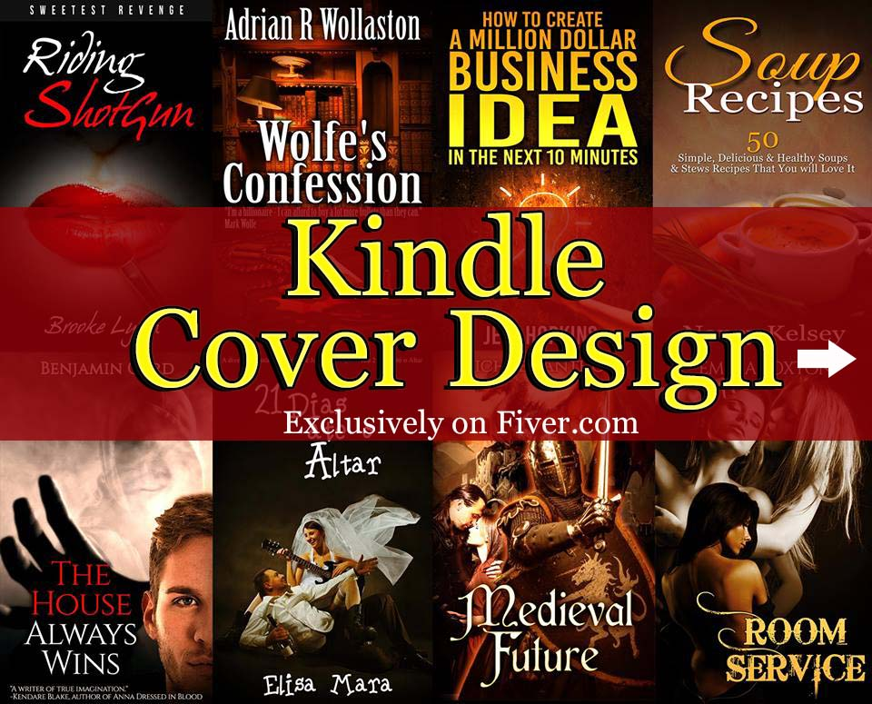 I will design an exclusive kindle,eBook,CREATESPACE Cover