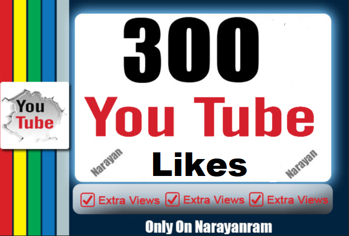 300 Quality Real YouTube Likes Super Instant order now