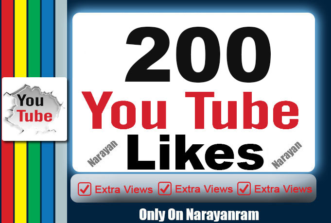 200 To 250 Quality YouTube Likes Super Fast