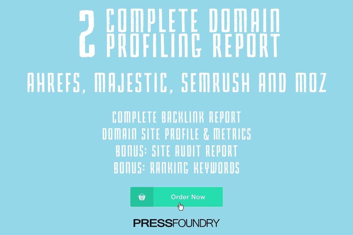 2 Complete Domain Profiling Report