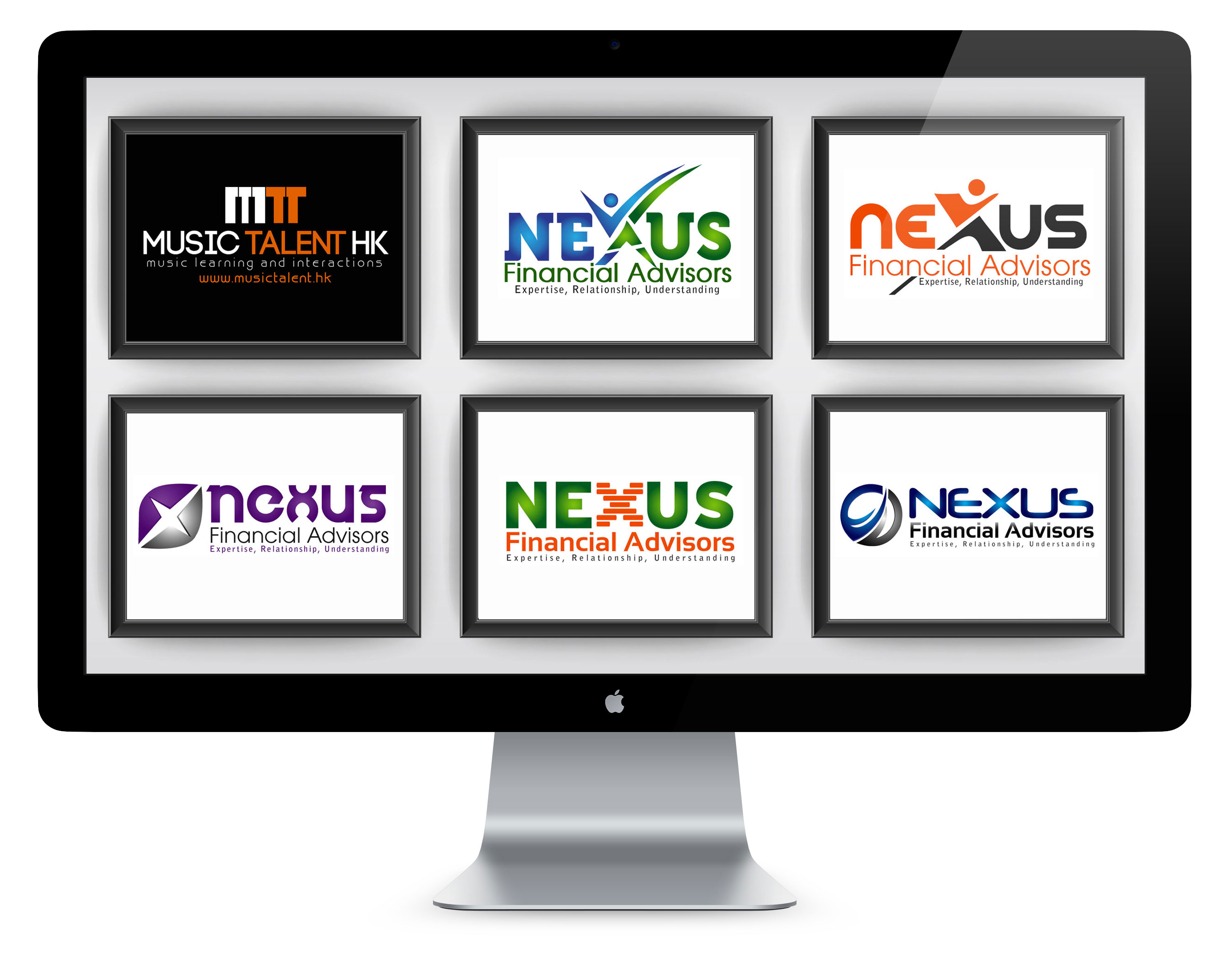 Xperts 5 logo concepts with unlimited revisions
