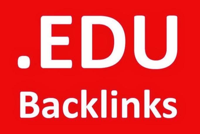 I Will Provide 300. EDU backlinks only
