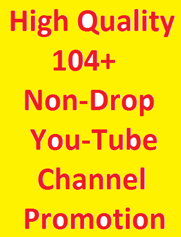 AWESOME OFFER Safe Fast You tube Promotion genuine service
