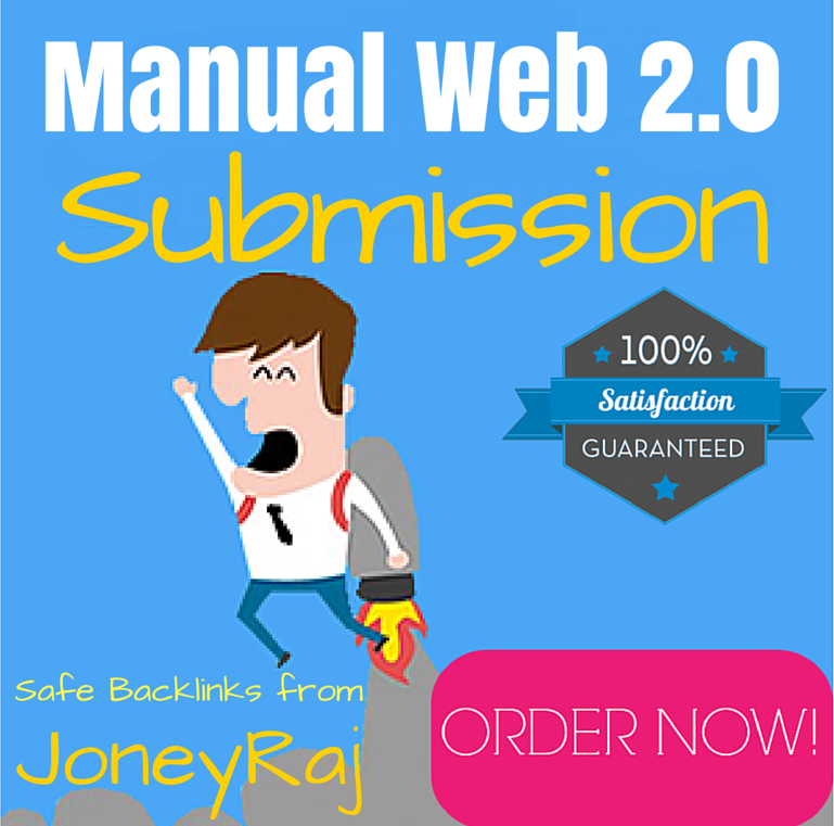 Manual Web 2.0 Blog Writing & Submission Service With Unique Content