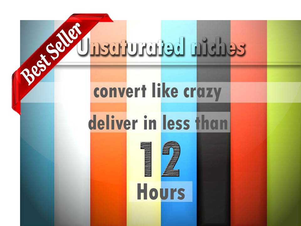 give list of newest profitable UNSATURATED niches that attract hungry buyers