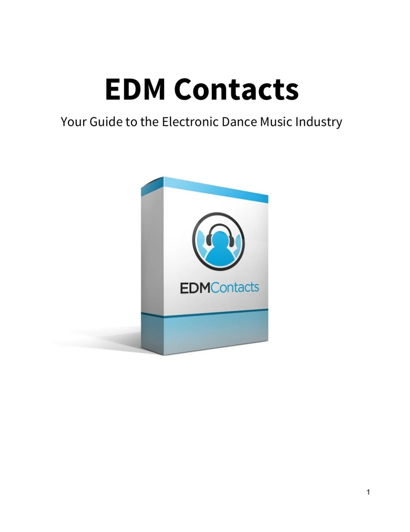 I Will Give You Top 5000 Music Contacts