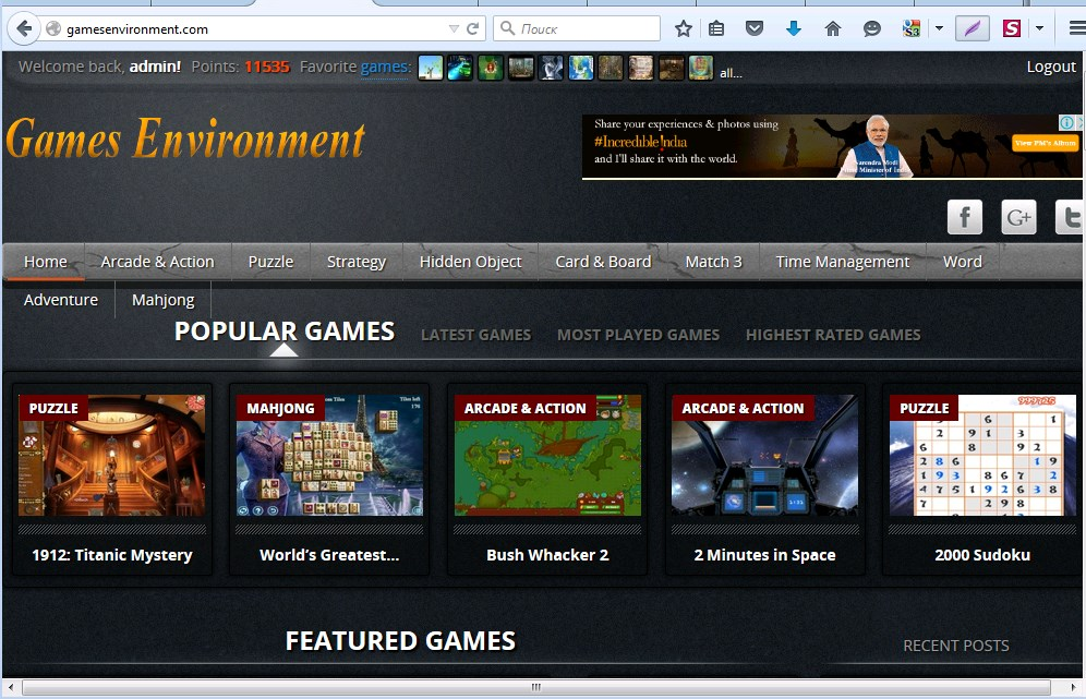 I will create a gaming site Wordpress