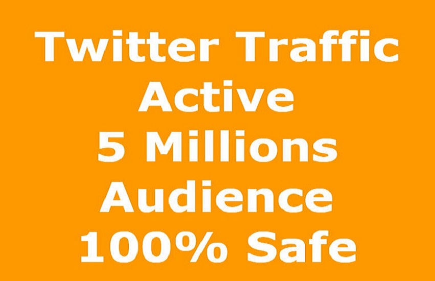 Organic Twitter Promotion Active Audience to Your Post