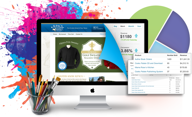 Get a Super Modern Website,  Responsive,  Mobile Ready,  Ecommerce HTML5 Installed and Online Quickly