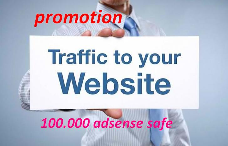 promotion of 2018 !! 120.000 visits for your website per week