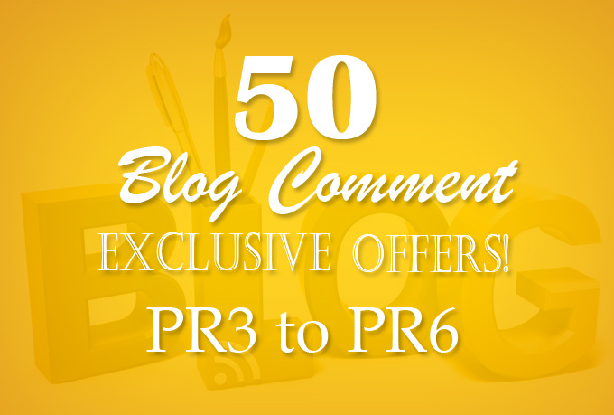do 50 blog comment high pr2 to pr3 low obl