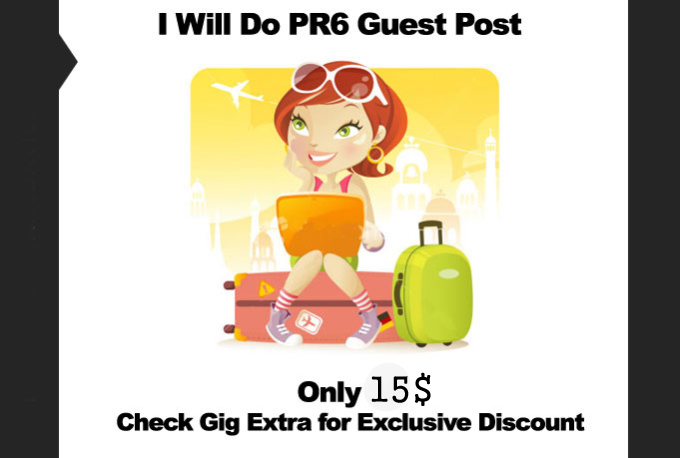 I will do guest post in PR6 blog