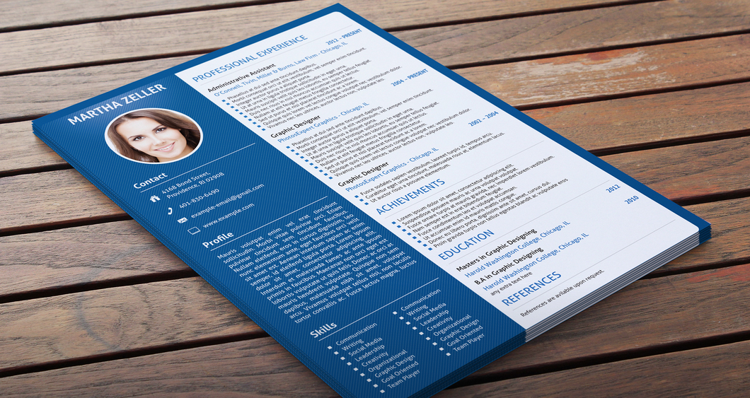 I will design Curriculum Vitae or Professionals Resume for you