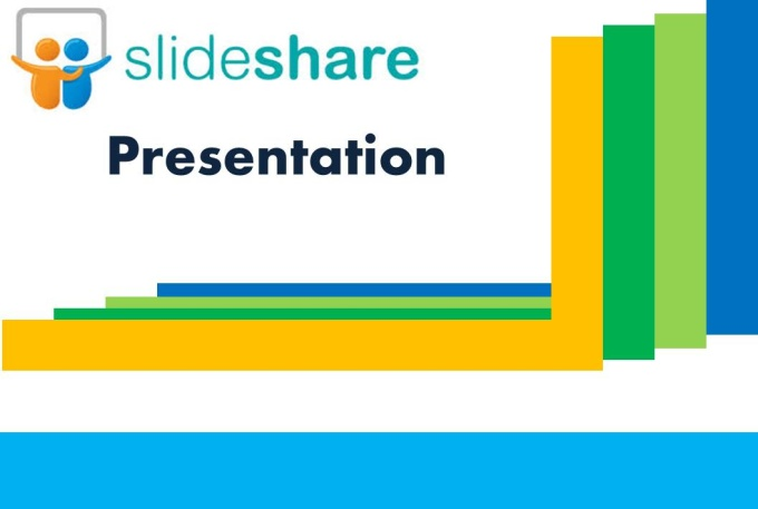 Make SlideShare presentation from a ready content