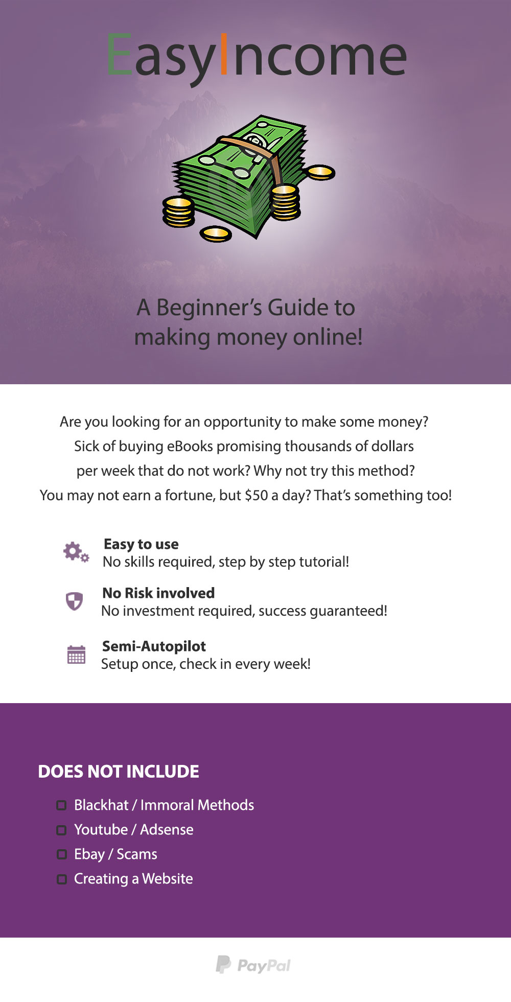 Learn how to make 50 per day working online for $15