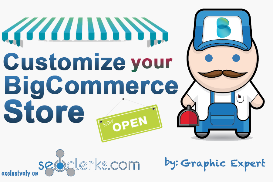 i will customize your Bigcommerce store