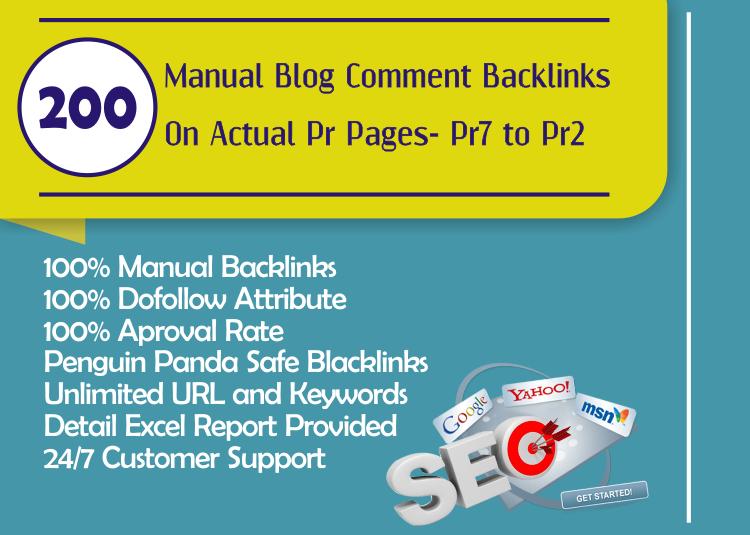 Make Dofollow 200 Blog Comment Backlinks