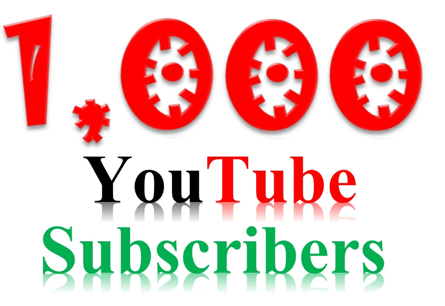 Safe 1000+ youtube Subcribe on your channel Never drop