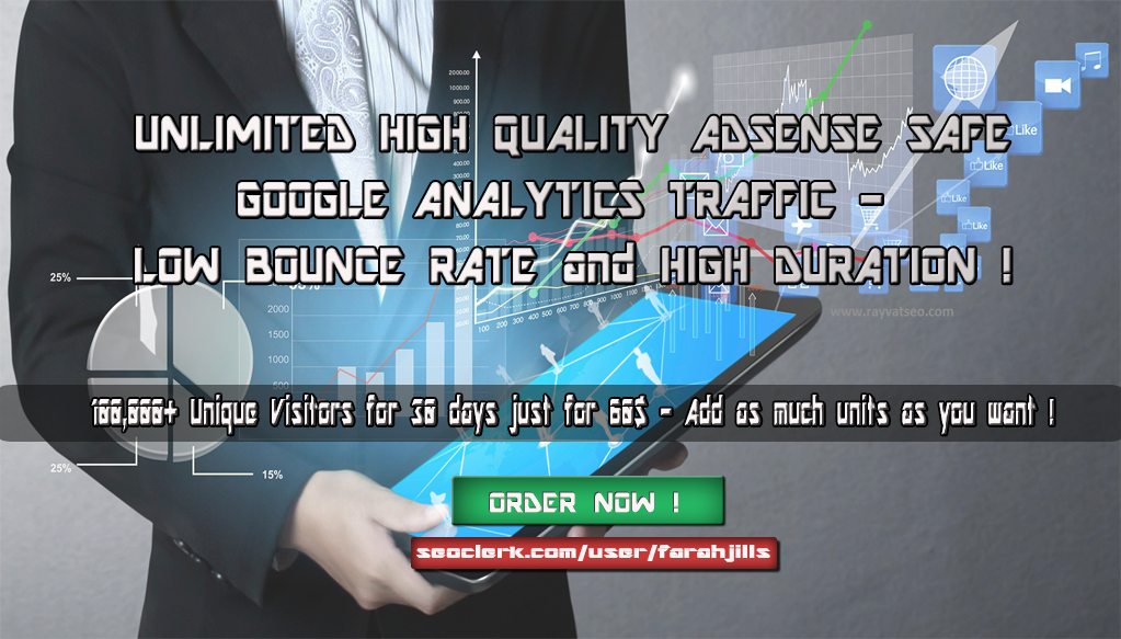 100K High Quality TRAFFIC - Low Bounce Rate - Long Du...