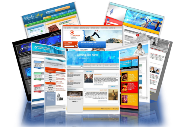 update your website with your content