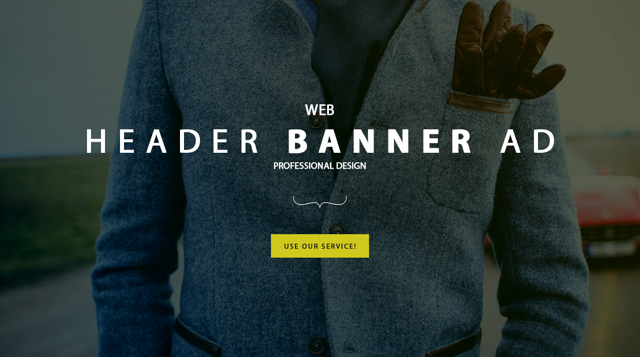 I will design Professional web banner,header,ad,coverbanner