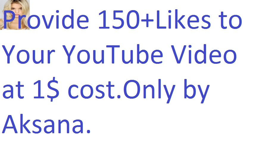 I will add 300+ likes manually to your any youtube video only